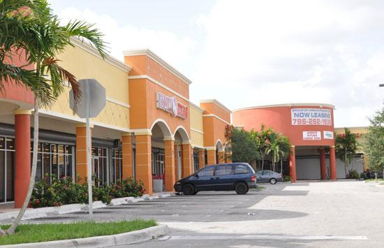 Puerta Del Sol Plaza in the Goulds area of Miami is facing foreclosure.