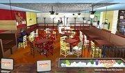 Interior rendition of Voodoo Bar & Grill