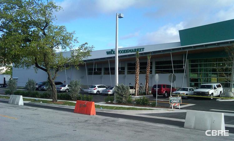 Whole Foods Market in North Miami was sold for $19.8 million.