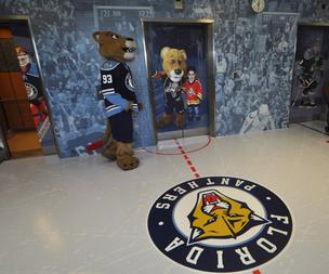 Florida Panthers entryway