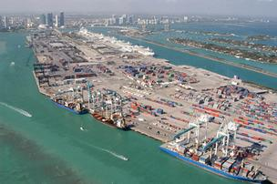 PortMiami is facing a challenge on plans to dredge its depth to 50 feet.