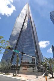 1450 Brickell was the first commercial office tower in downtown Miami to achieve LEED certification.