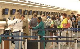 Fort Lauderdale-Hollywood International Airport saw an increase in passenger traffic for the seventh month in a row.
