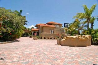 The five-bedroom house at 68 S. Andros Road in Key Largo, built in 1994, is currently on the market for $3.5 million.