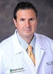 Cardiovascular surgeon Marco Bologna joined Baptist Health Cardiac & Thoracic Surgical Group.