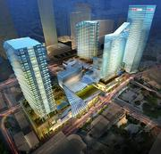 Miami's Brickell CityCentre, which broke ground in June, is to include $1 billion worth of offices, retail, residences and hotel rooms.