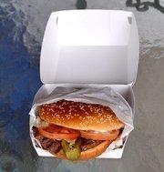 Burger King's famous Whopper.