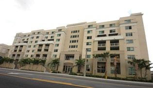 The new Camillus House campus, at 1603 N.W. Seventh Ave. in Miami, includes housing.