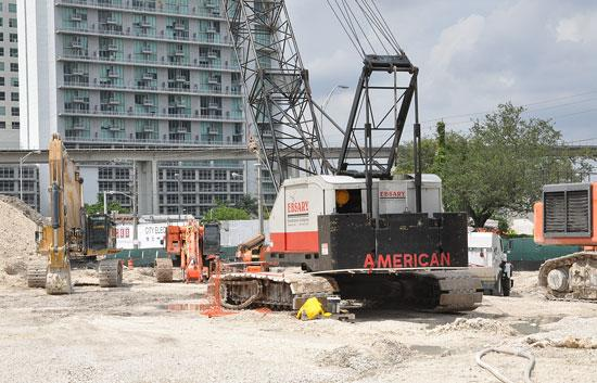 Brickell CitiCentre's foundation and underground parking should be complete in 18 months.