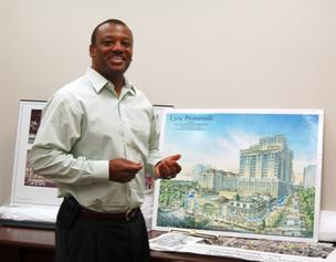 CRA Executive Director Clarence  Woods III says the project will revitalize Overtown.