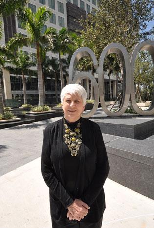 Loretta Cockrum of the Foram Group braved the recession to build one of Brickell's most distinguished buildings.