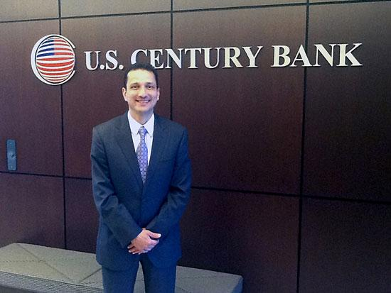 U.S. Century Bank President and CEO Carlos Davila is hoping to find a new capital partner after a recapitalization plan fell through.