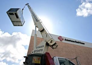Stimulus funds in Miami-Dade helped the American Red Cross get a new chiller.