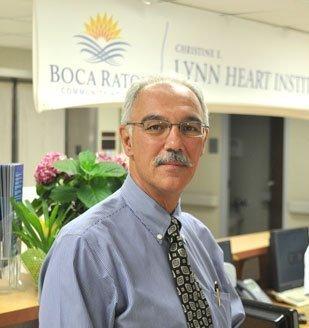 Boca Raton Regional Hospital President and CEO Jerry Fedele.