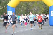 Runners participated in the fourth annual Families for Fragile X 5K Run/Walk at Zoo Miami in 2011.