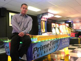 David Goldfarb, president  of Prime Time Amusements, says the company is growing part of its business by expanding into Africa.