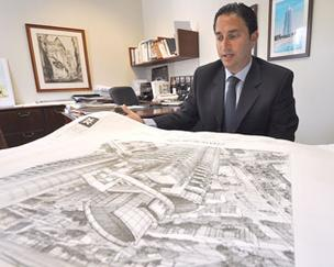 Manuel Grosskopf plans for Chateau Beach Residences on Sunny Isles Beach.