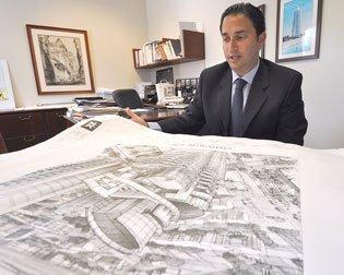 Manuel Grosskopf plans for Chateau Beach Residences on Sunny Isles Beach.