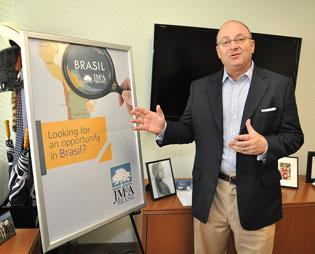 JM&A's Forrest Heathcott hopes its Brazil plan will work in other Latin American countries.