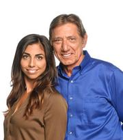 Joe Namath and his daughter Jessica have signed on as part of the effort to market OMGFast's high-speed Internet service.