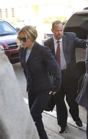 Kim Rothstein arrives at her guilty plea hearing on Feb. 1.