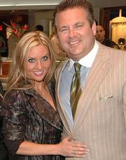 Kim and Scott Rothstein at a charity event.