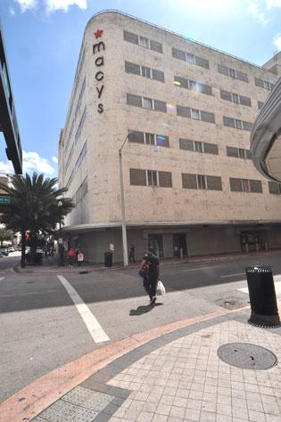 The property, at Miami Avenue and Flagler Street, recently sold for $15.55 million, or $322.26 a square foot.