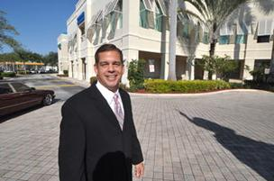 George Pino says South Florida's industrial market has yet to hit its peak in pricing.