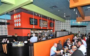 Mama Fu's offers a flex-casual concept that includes over-the-counter ordering at lunch and full-service dining for dinner.