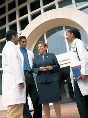 UM President Donna Shalala has built a successful track record at the university.