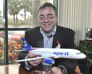 Spirit Airlines plans to receive nine new aircraft this year.