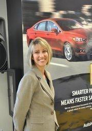 Julie Staub, AutoNation's VP of human resources.