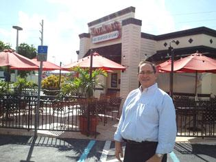 Jeremy Larkin of NAI Commercial Real Estate Services Worldwide says the Tony Roma's in South Miami is in a great location.