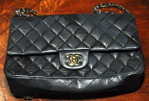 An authentic Chanel purse  once owned by Kim Rothstein, wife of  Ponzi schemer Scott Rothstein.