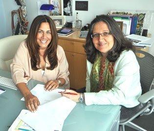 Managing partners Diana Brooks and Vivian Santos encourage leadership throughout VSBrooks Advertising's ranks.