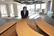 Cliff Courtney, executive VP and chief marketing officer, in the agency's new office space.