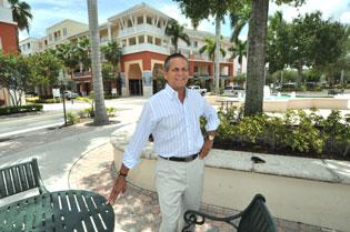 George deGuardiola, who helped develop Abacoa Town Center, says he is beginning to see strong demand for office space there.