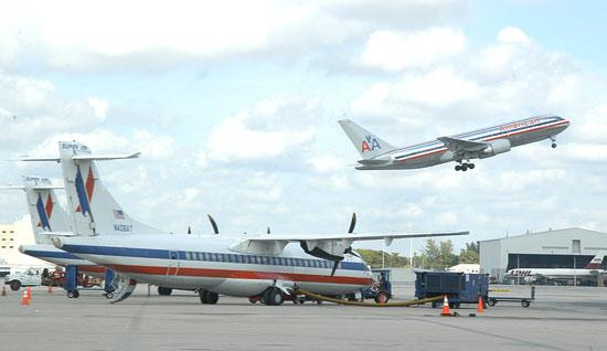 American Airlines' second-largest hub is at Miami International Airport.