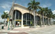 This building in Delray Beach will soon be torn down to make way for the new Atlantic Plaza II project.