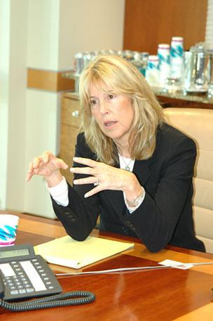Attorney Patricia Redmond is involved in the Fisher Island ownership dispute.