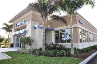 The new Chase branch in Coral Springs.