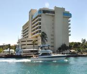 The Boca Raton Bridge Hotel has a prime location along the inlet to the Atlantic Ocean and the Intracoastal Waterway.