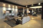 The lobby at Infinity Brickell.