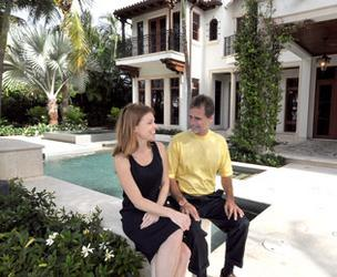 Douglas Elliman Florida's Vanessa Grout and Tim Elmes are helping to sell Opera Tower units.