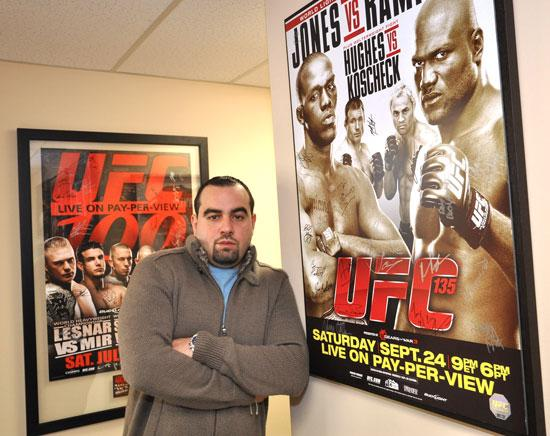 Malki Kawa, CEO of First Round Management, which represents UFC fighters.