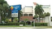 The Comfort Inn in West Palm Beach is headed to auction.