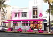 A rendering shows how the Forever Yogurt would look on Ocean Drive.
