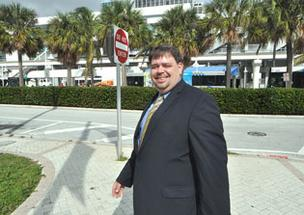Christian Goode, the recently appointed president of Resorts World Miami, says the school district's land could have many uses.