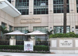 Gibraltar Private Bank & Trust flipped to a loss in the second quarter, but its asset quality improved.