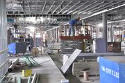 Workers are preparing Hialeah Park's new casino for its July 4 celebration.